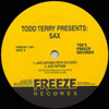 Todd Terry Presents Sax [Jacket]