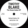The House Auteur EP [Jacket]