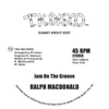 Jam On The Groove / Get Off Your Aaahh And Dance (Danny Krivit Edits) [Jacket]