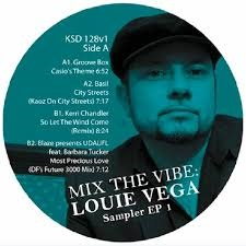 Mix The Vibe: Louie Vega: Sampler EP 1 [Jacket]