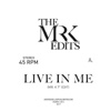 Live In Me / Warm Weather (Edits by Mr. K) [Jacket]