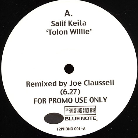 Tolon Willie / Voodoo Reprise (Joe Claussell Remixes) [Jacket]